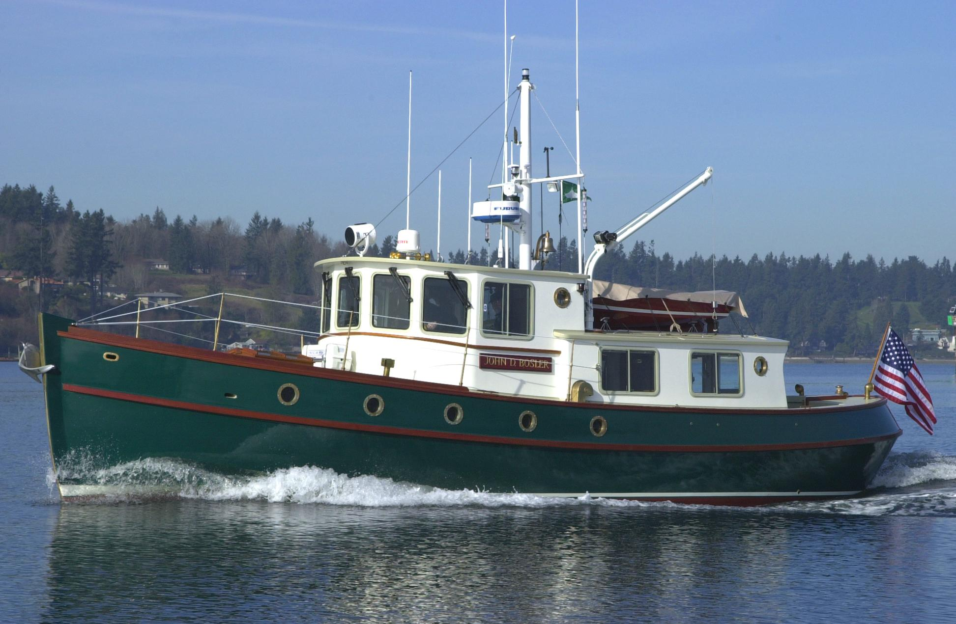 2000 Devlin Sockeye 42 Trawler Power New And Used Boats