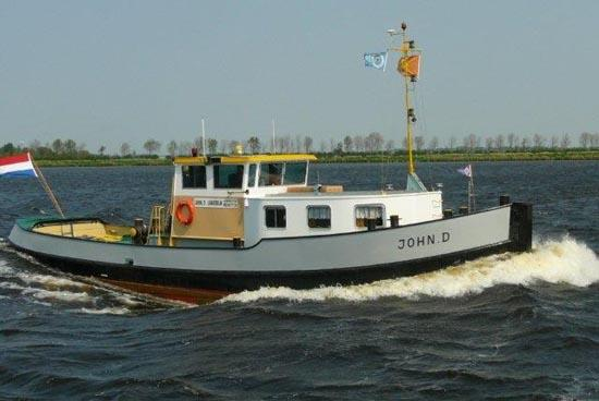 1930 Tugboat Live Aboard Leisure Power Boat For Sale Www