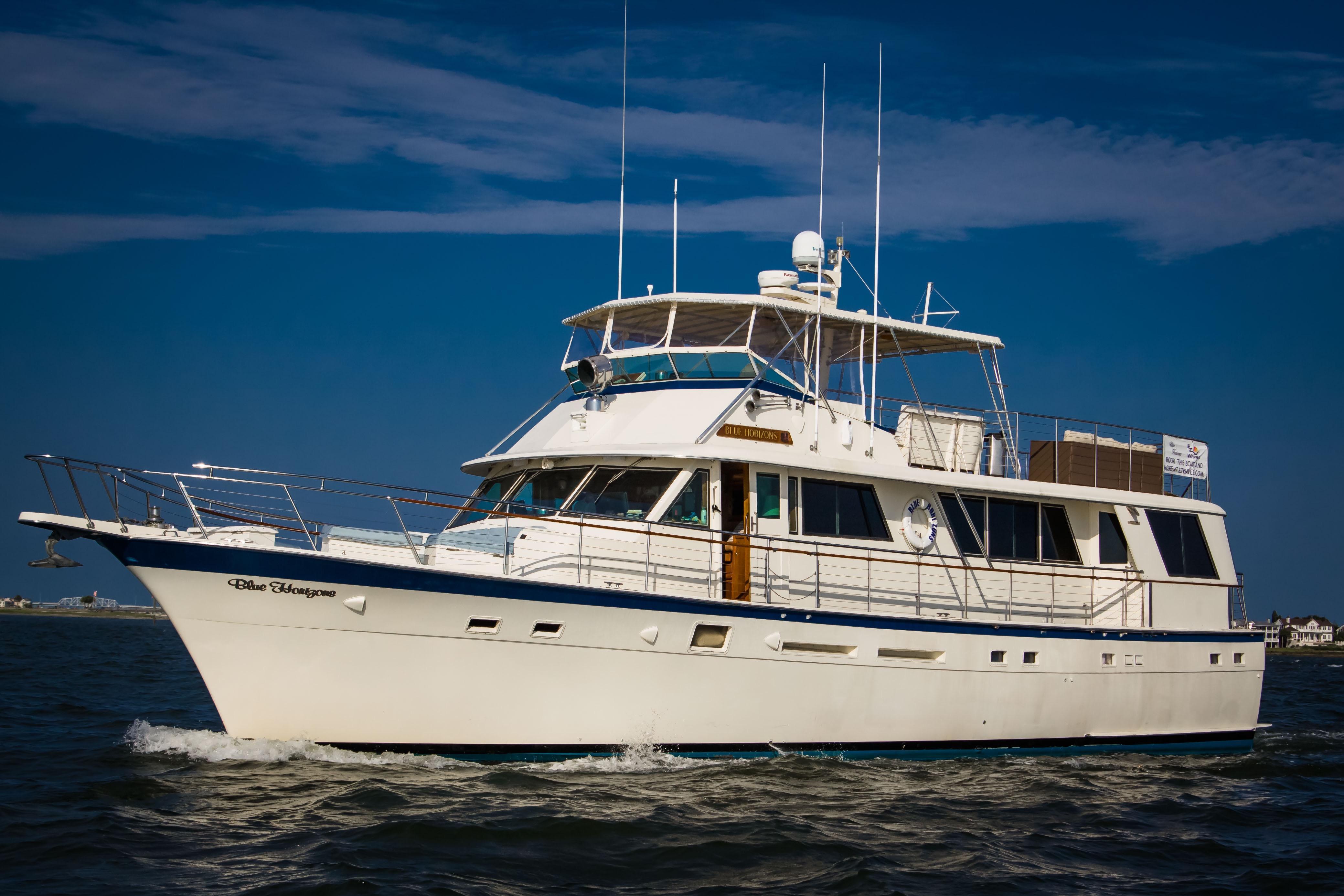 1983 Hatteras 70 Ft Motoryacht Power Boat For Sale Www