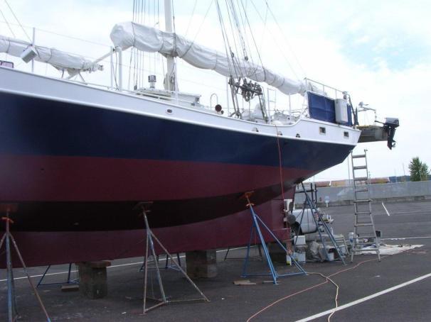 1986 Tom Colvin Pipestrelle Steel Schooner Sail Boat For