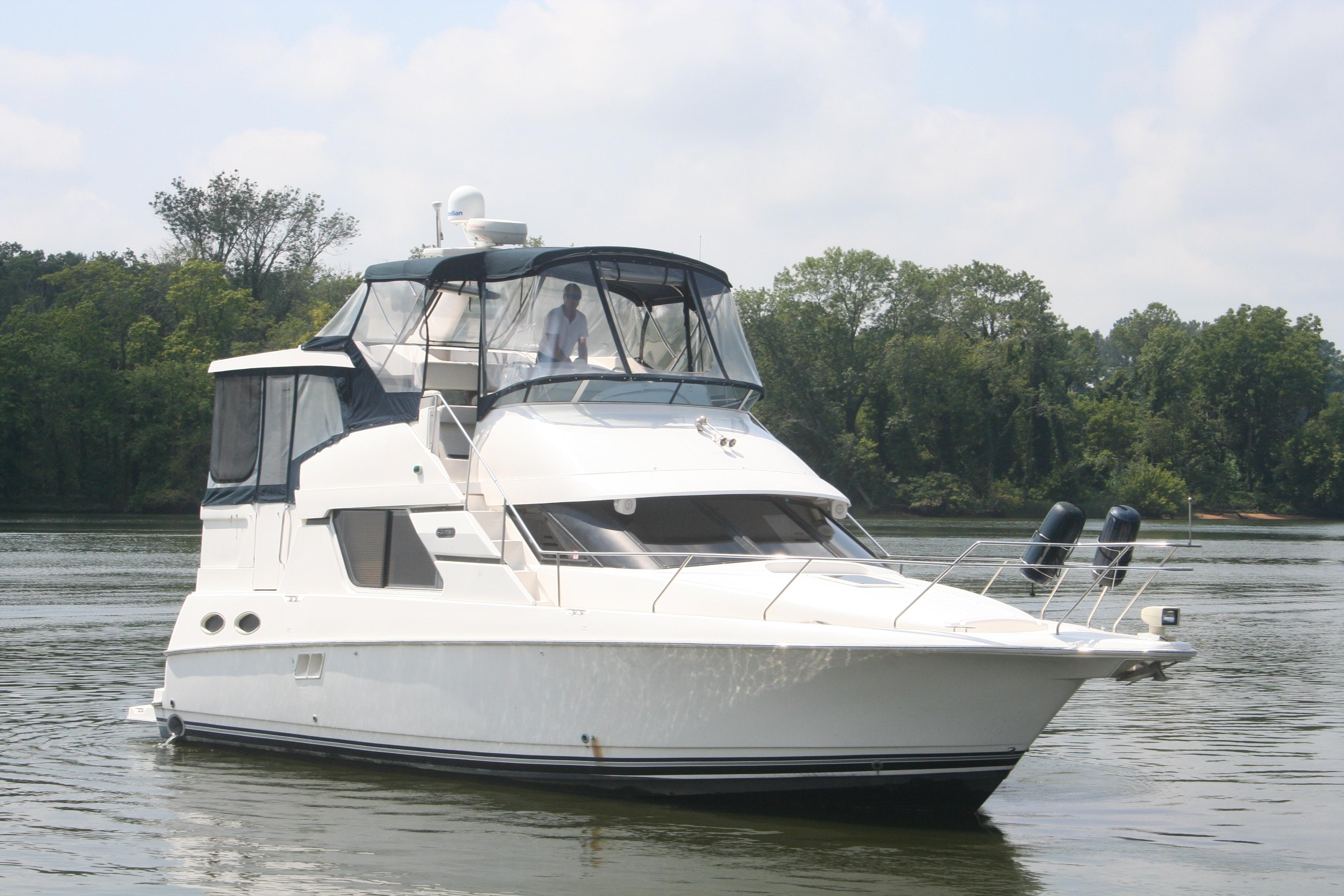 2001 Silverton 392 Motor Yacht Power Boat For Sale Wwwyachtworldcom
