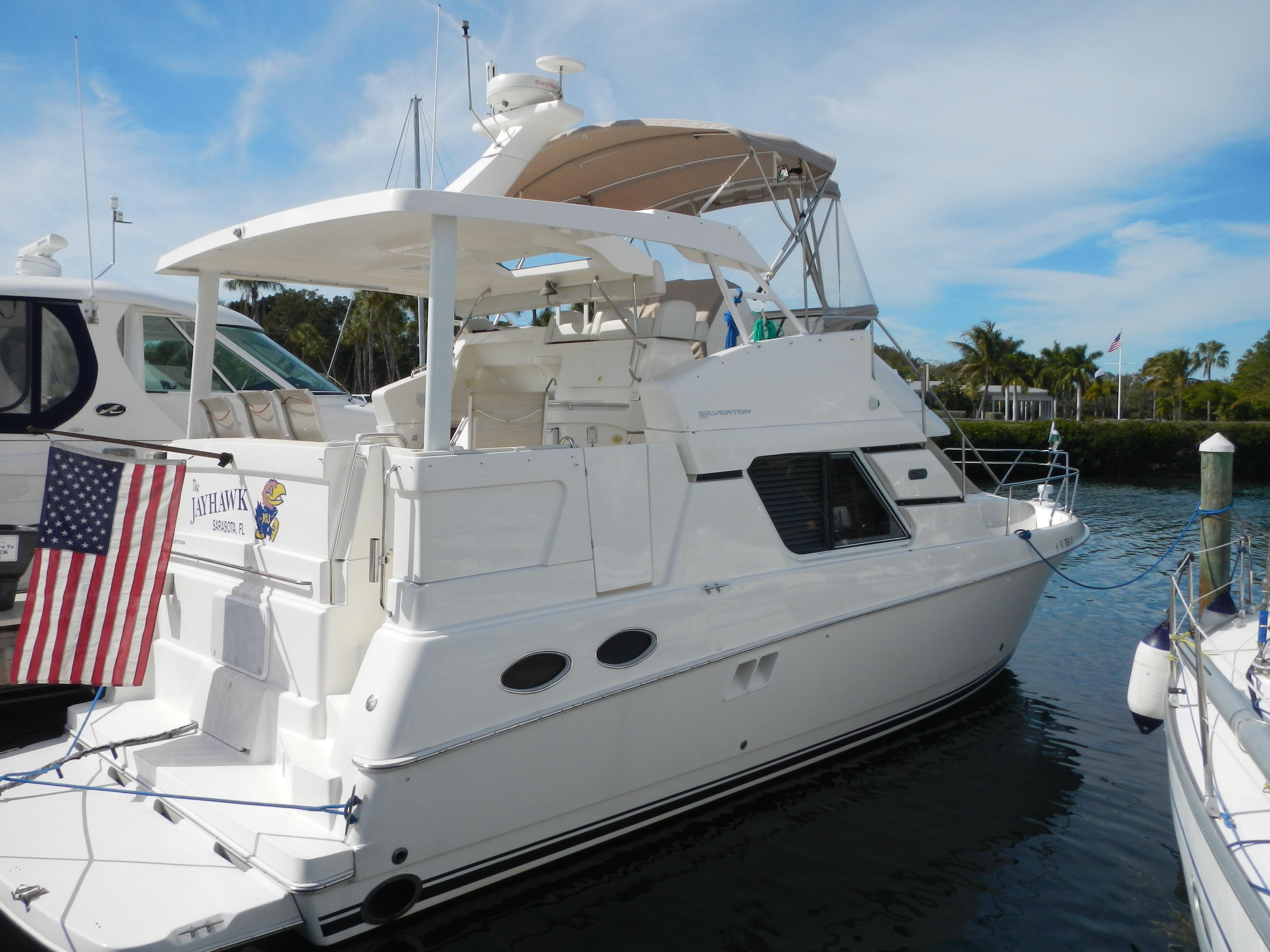 2000 Silverton 392 Motor Yacht Diesel Power Power Boat For