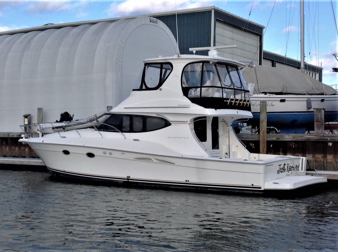 2006 Silverton 45 Convertible Power Boat For Sale Www