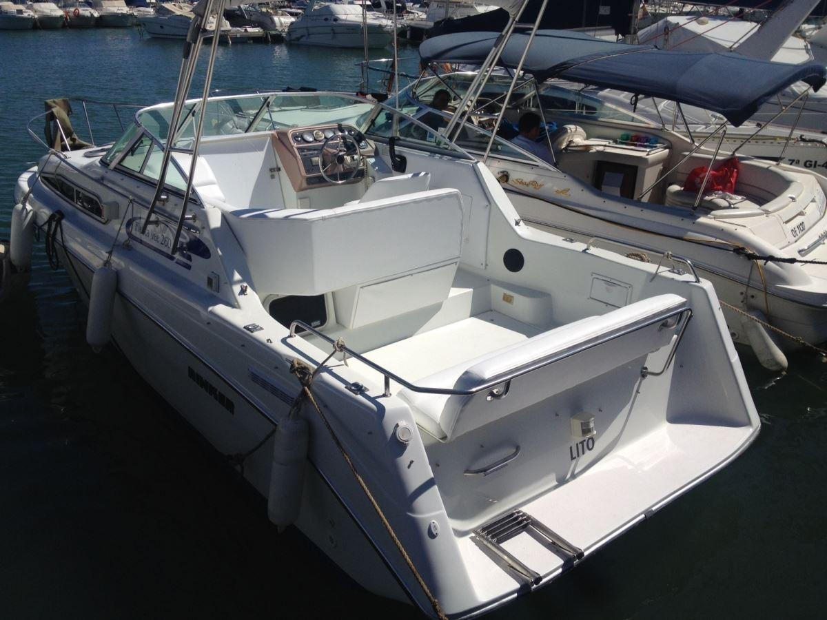 1994 Rinker Fiesta Vee 260 Power New And Used Boats For Sale
