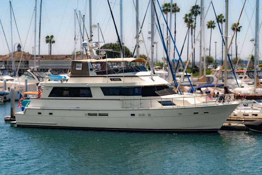 1989 70 HATTERAS 70 COCKPIT MOTOR YACHT For Sale In San