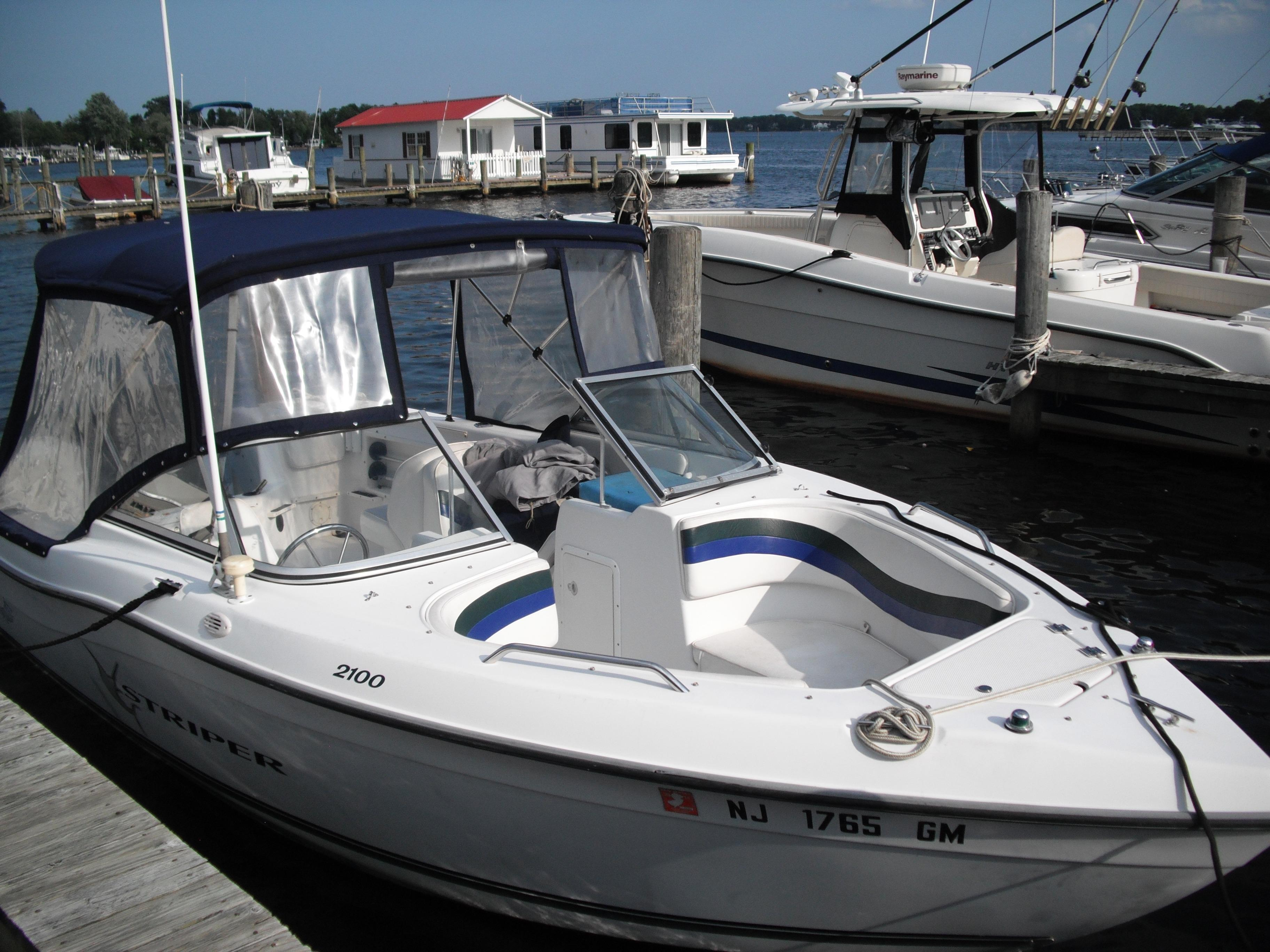 2000 Sea Swirl 2100 Striper Power Boat For Sale Www