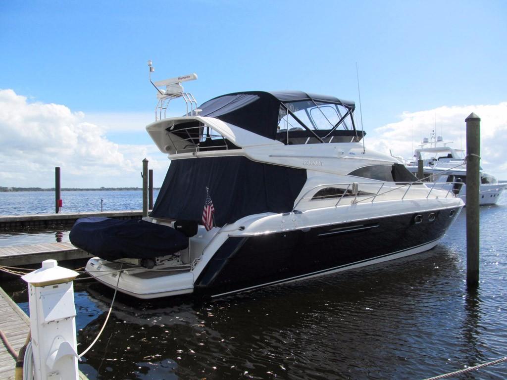 1998 Viking Princess 56 Sport Cruiser Motor Yacht Power