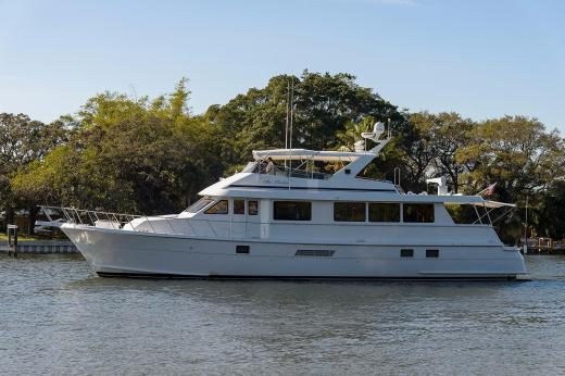 Hatteras Cockpit Motor Yacht Boats For Sale YachtWorld
