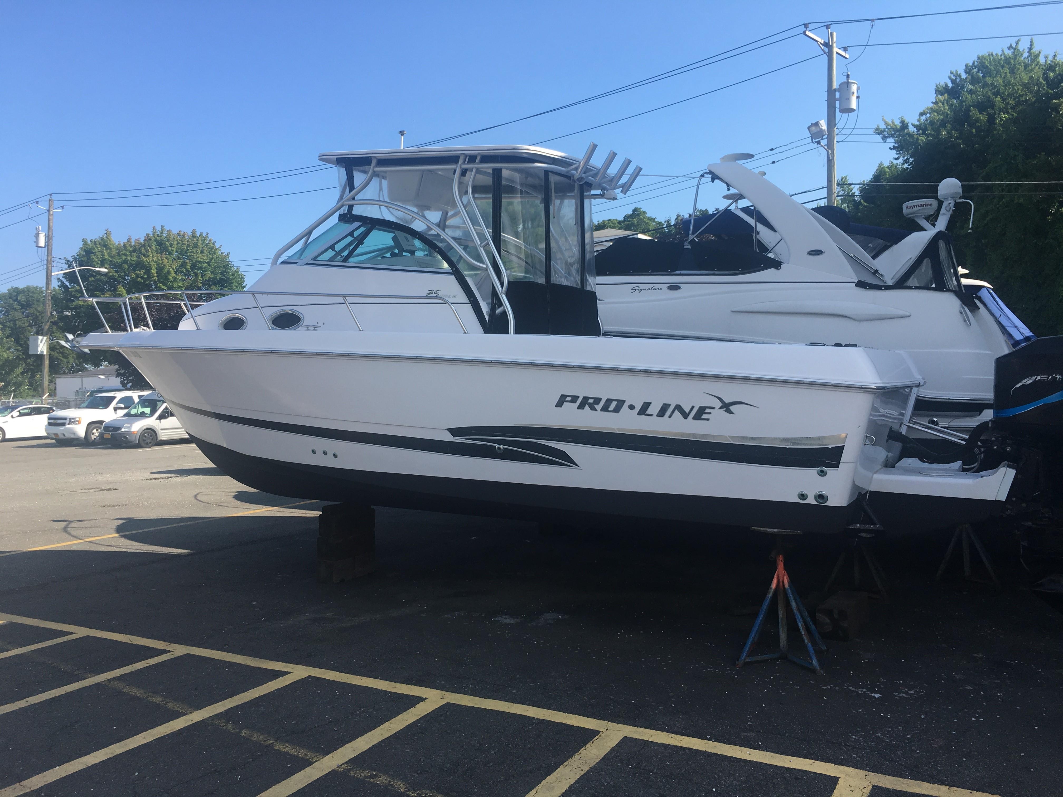 2000 Pro Line 25 Walkaround Power Boat For Sale Www