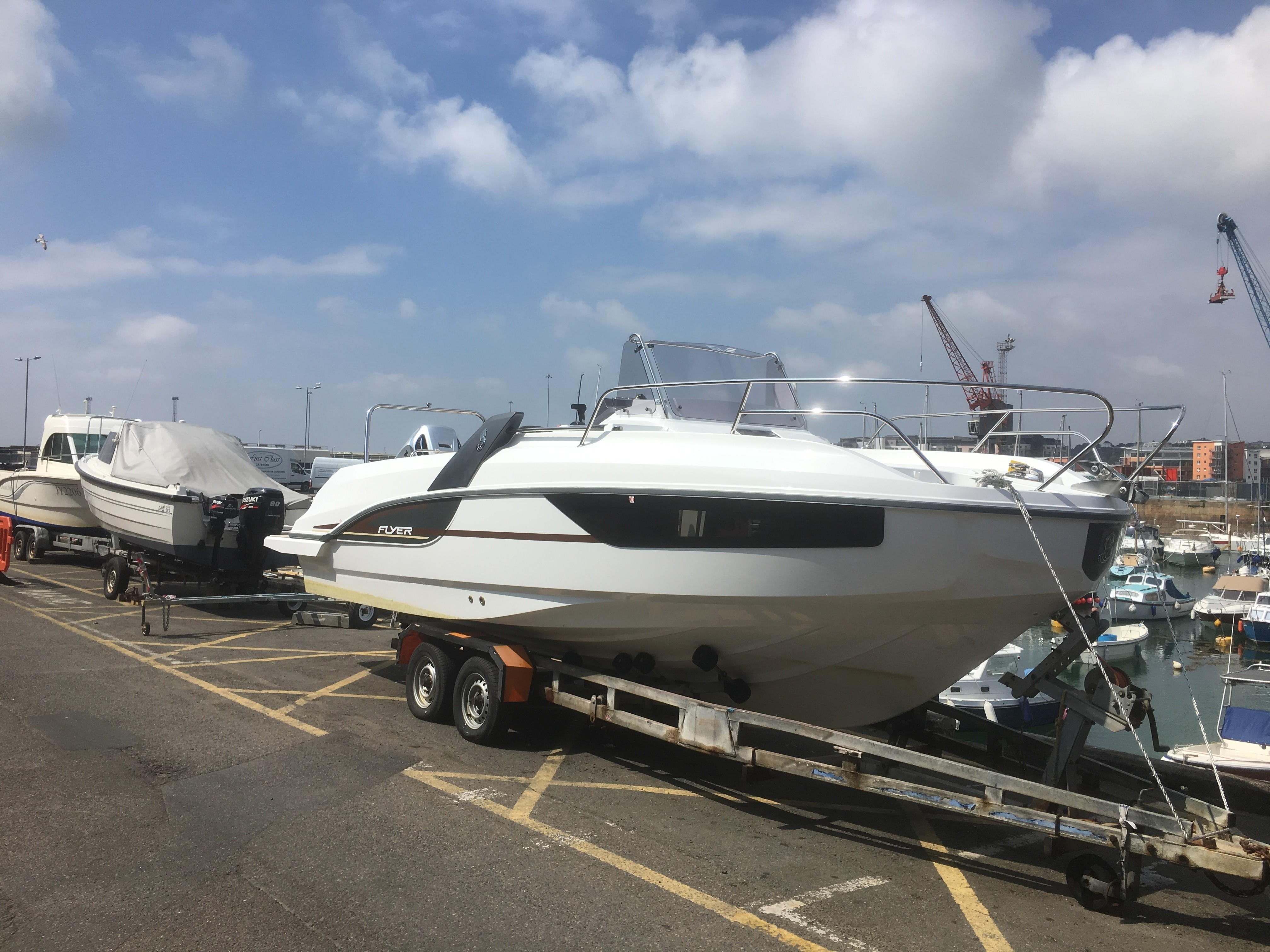 2017 Beneteau Flyer 77 Sun Deck Power New And Used Boats For