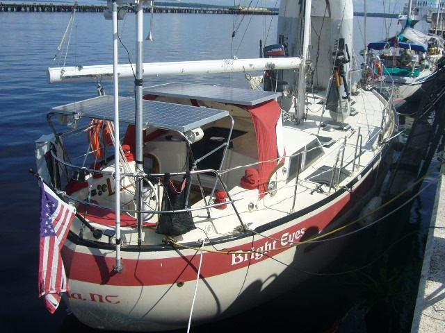 1981 Corbin 39 Pilothouse Cutter Sail Boat For Sale Wwwyachtworldcom