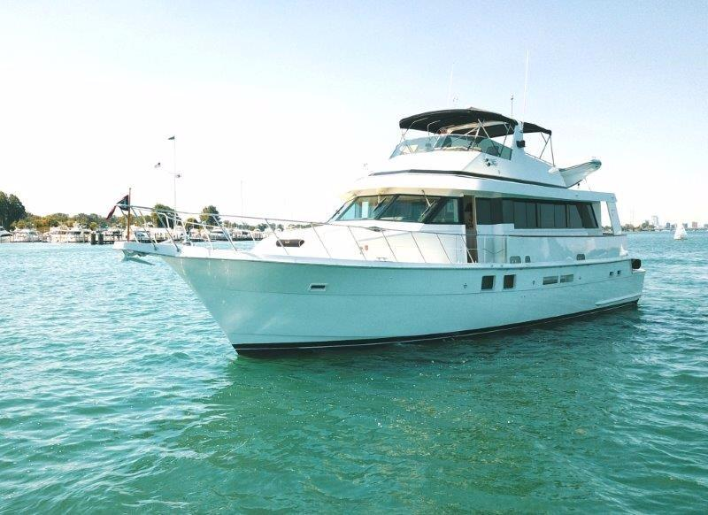 1993 Hatteras Extended Deckhouse Power Boat For Sale Www