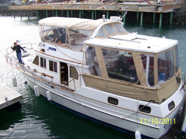 1988 Albin Sundeck Trawler Power Boat For Sale Www