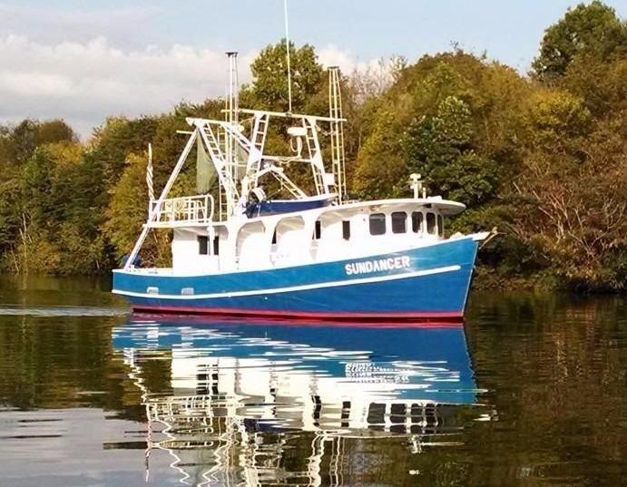 1988 Trawler Landry Shipyards Custom Power Boat For Sale