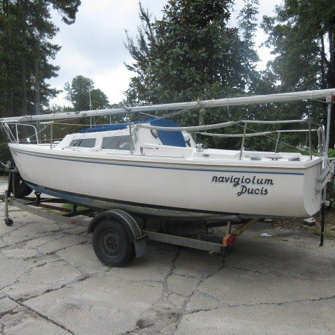1985 Catalina 22 Sail Boat For Sale Wwwyachtworldcom