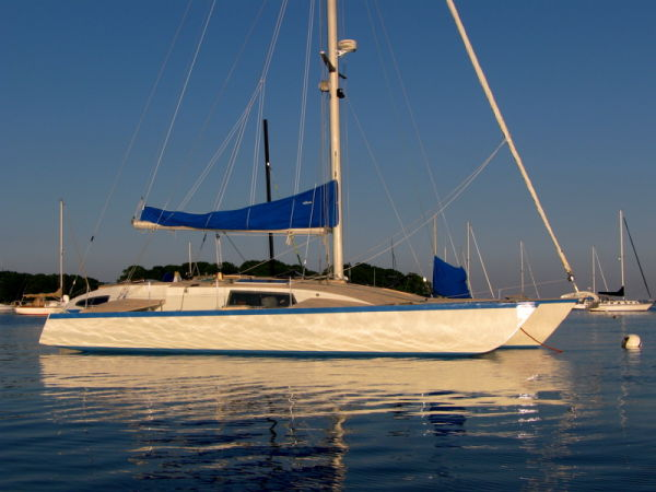 1987 Custom Simpson Liahona Trimaran Sail Boat For Sale