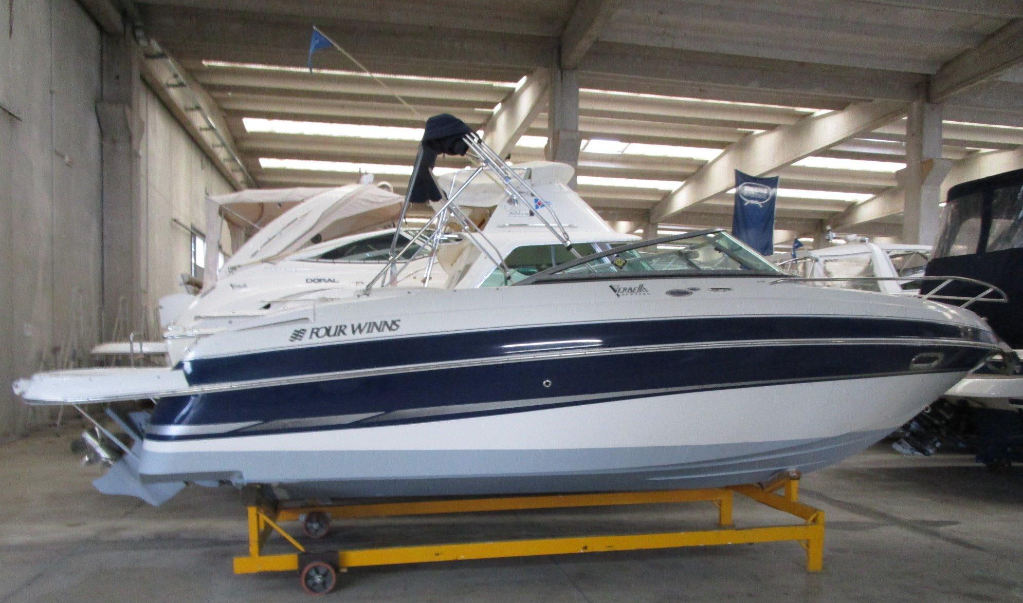 2004 Four Winns 225 Sundowner Power Boat For Sale Www