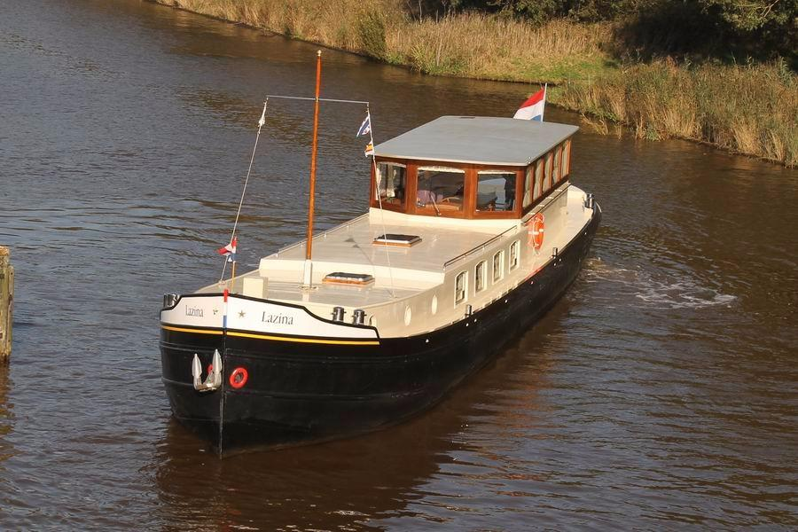 1928 Dutch Barge Luxe Motor Power New And Used Boats For Sale