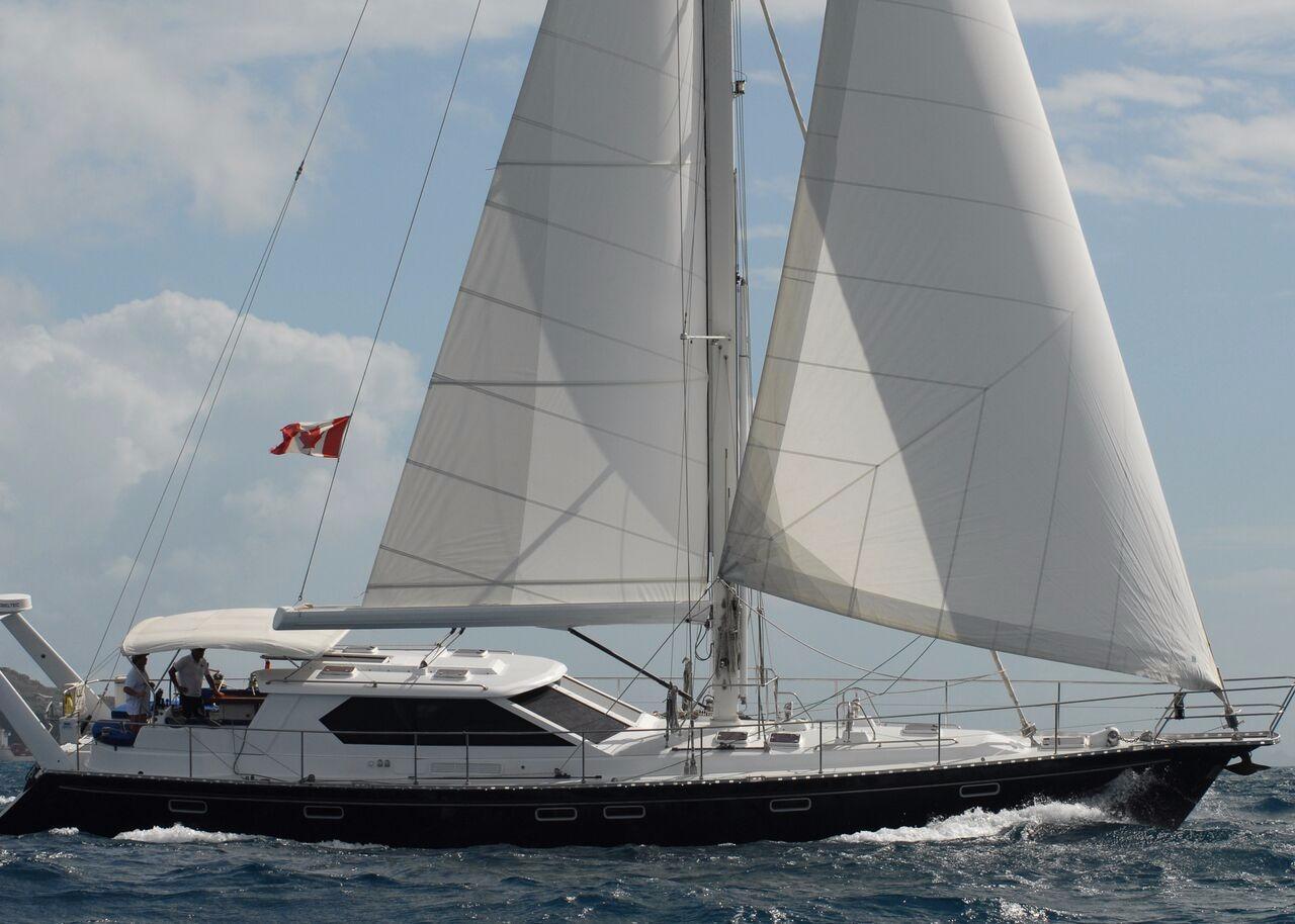 2005 Kanter 65 Pilothouse Bouganvillea Sail Boat For Sale