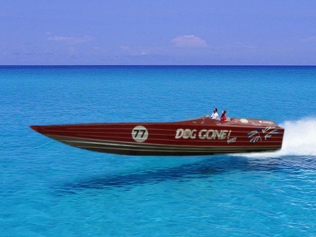 2006 Lamborghini Offshore Racing Powerboat Power Boat For
