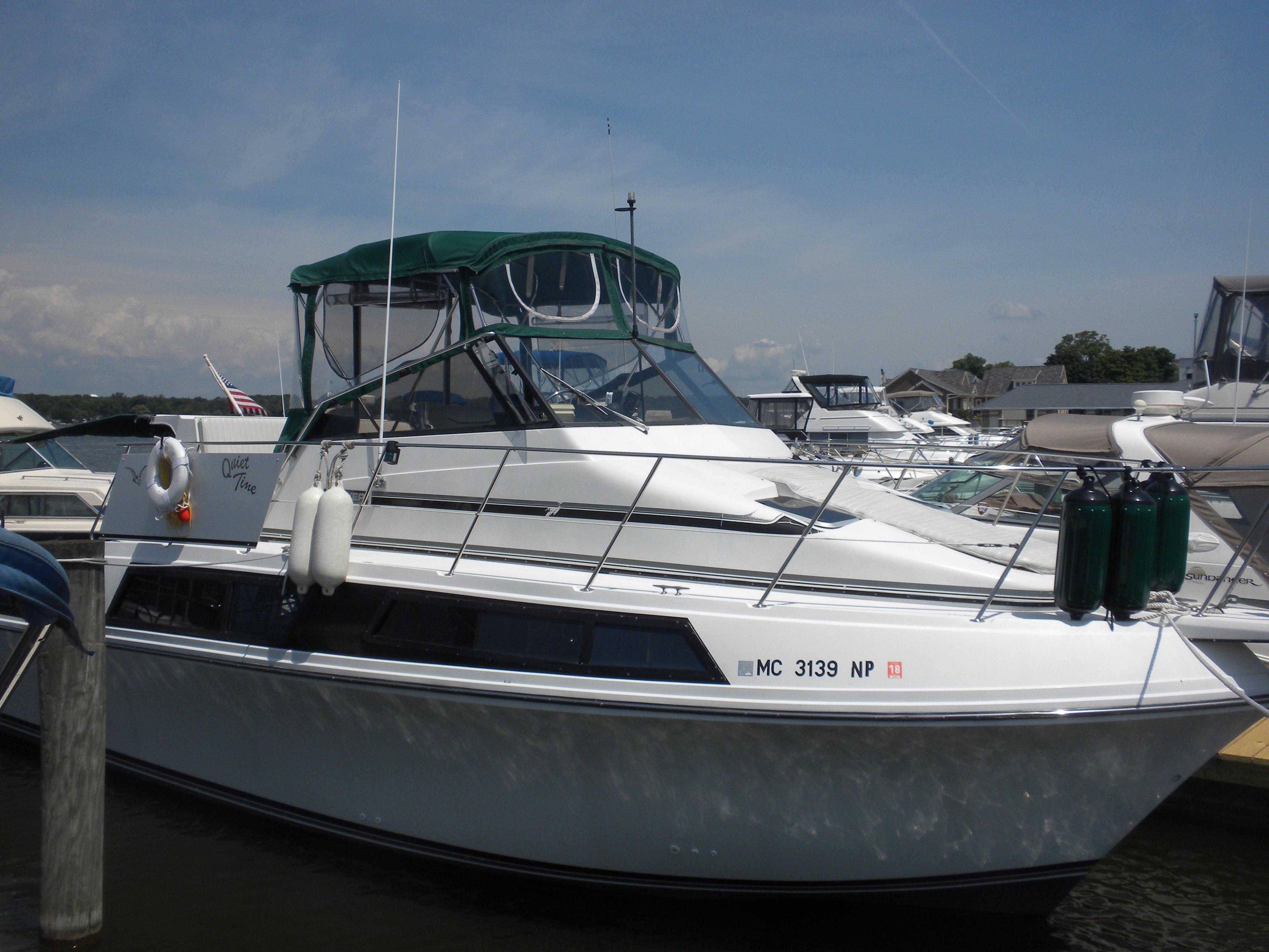 1989 Carver 32 Mariner Motore Barca In Vendita Www