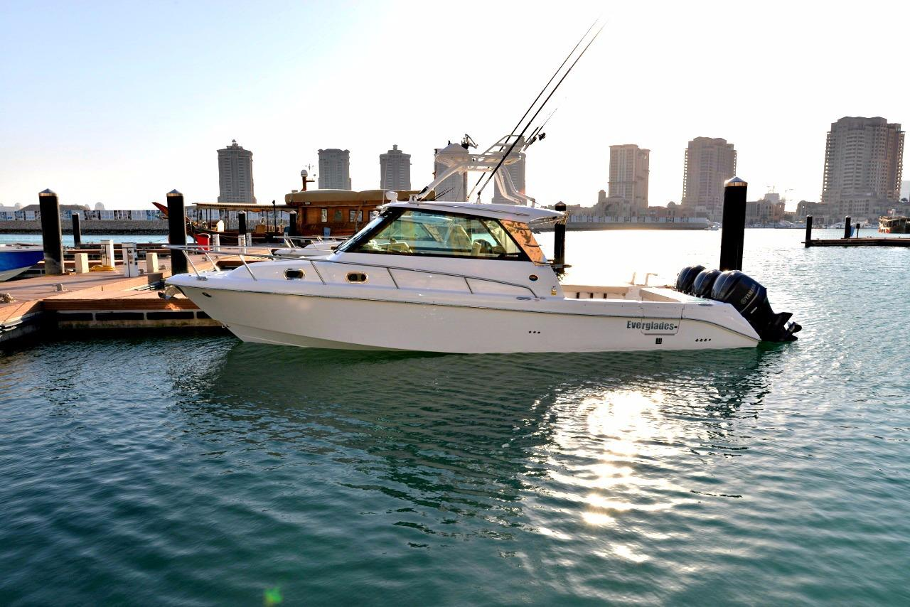 2014 Everglades 350 EX Power Boat For Sale Www