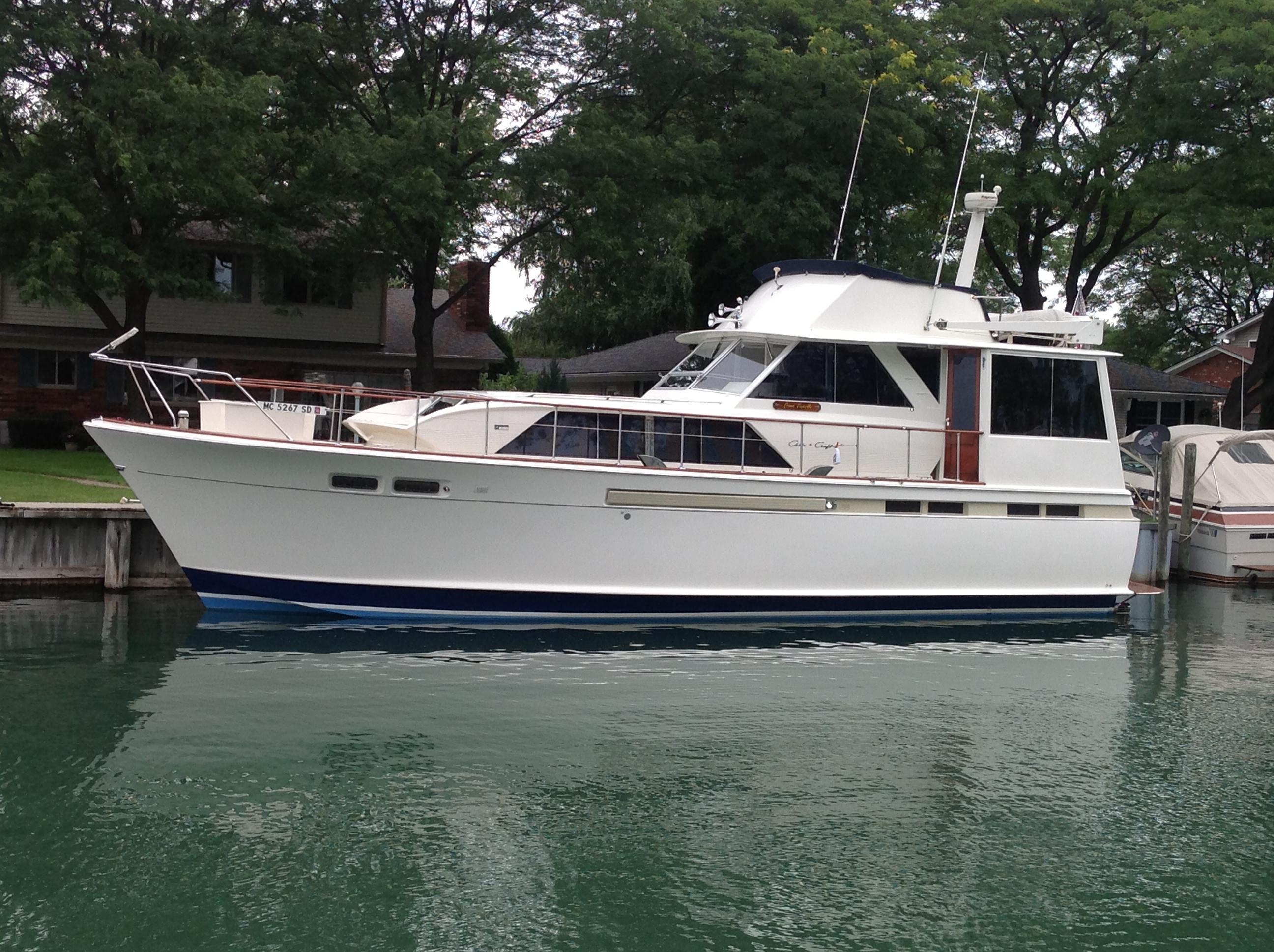 1968 Chris Craft Commander Flush Deck Power Boat For Sale Wwwyachtworldcom