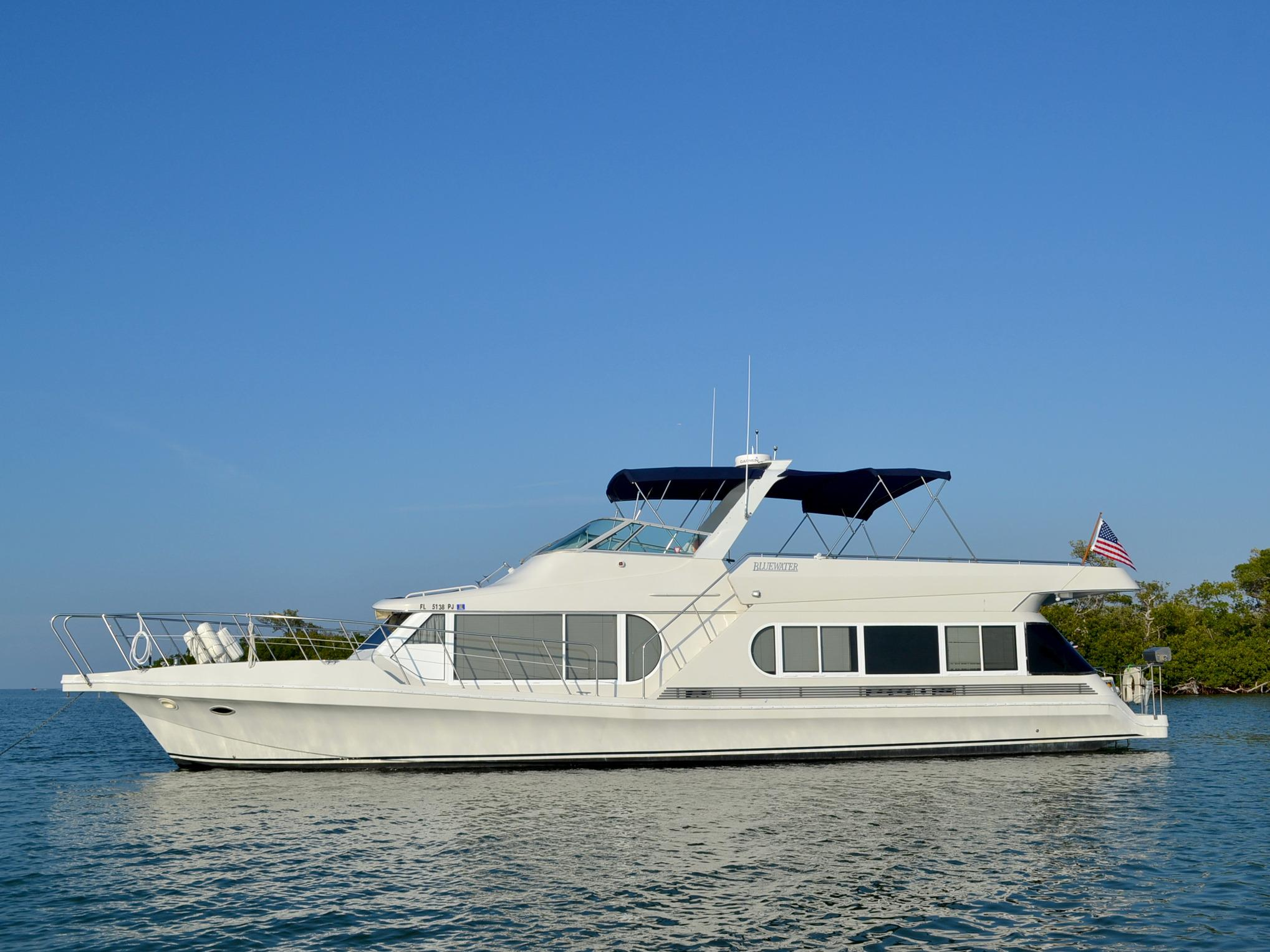 1995 Bluewater Coastal Cruiser Power Boat For Sale Www