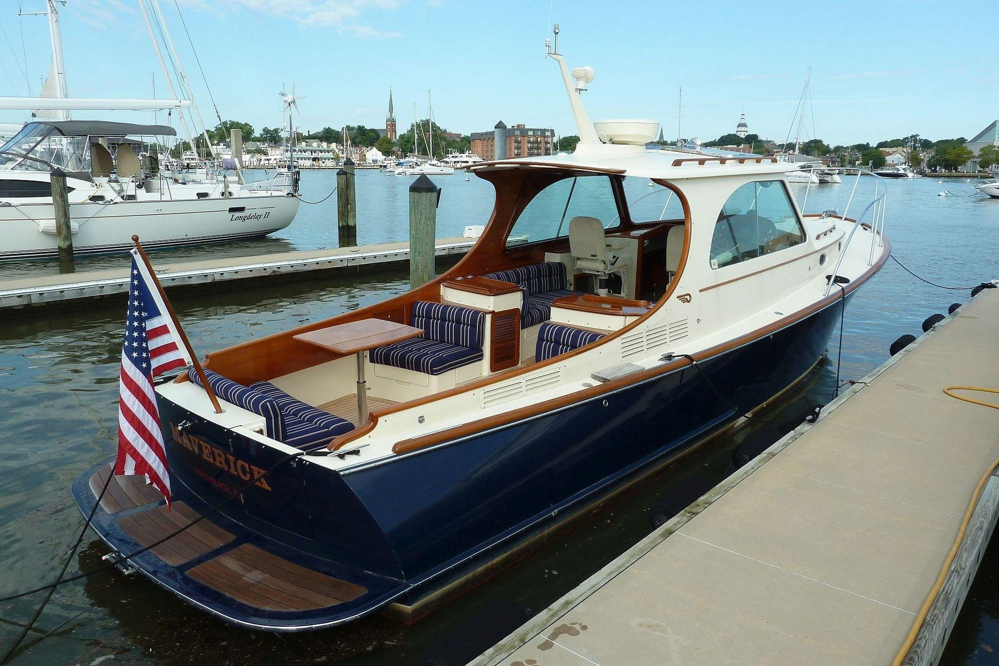 2011 Hinckley Picnic Boat MKIII Power Boat For Sale Www