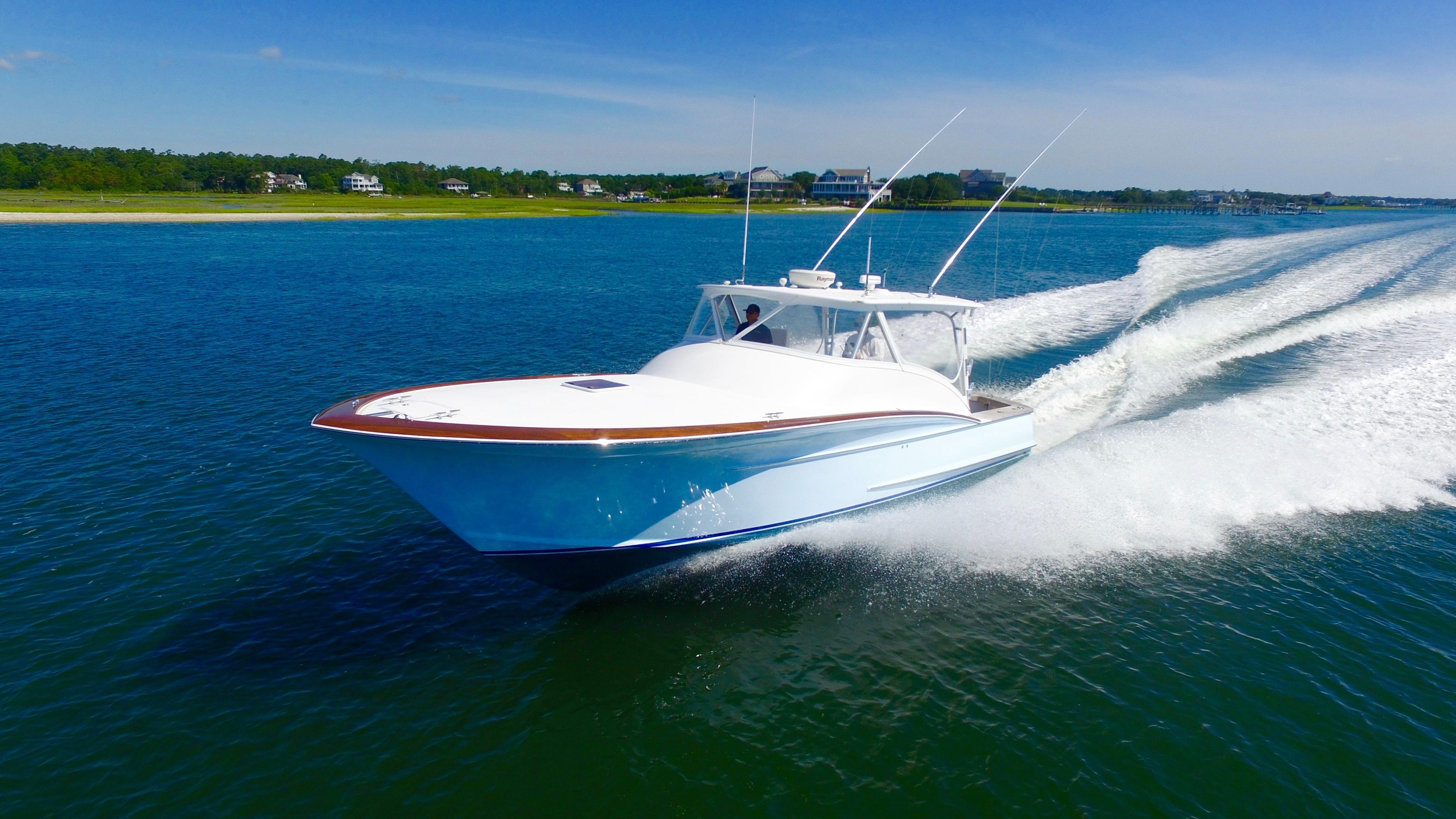 2012 Winter Custom Carolina 38 Express Power Boat For Sale