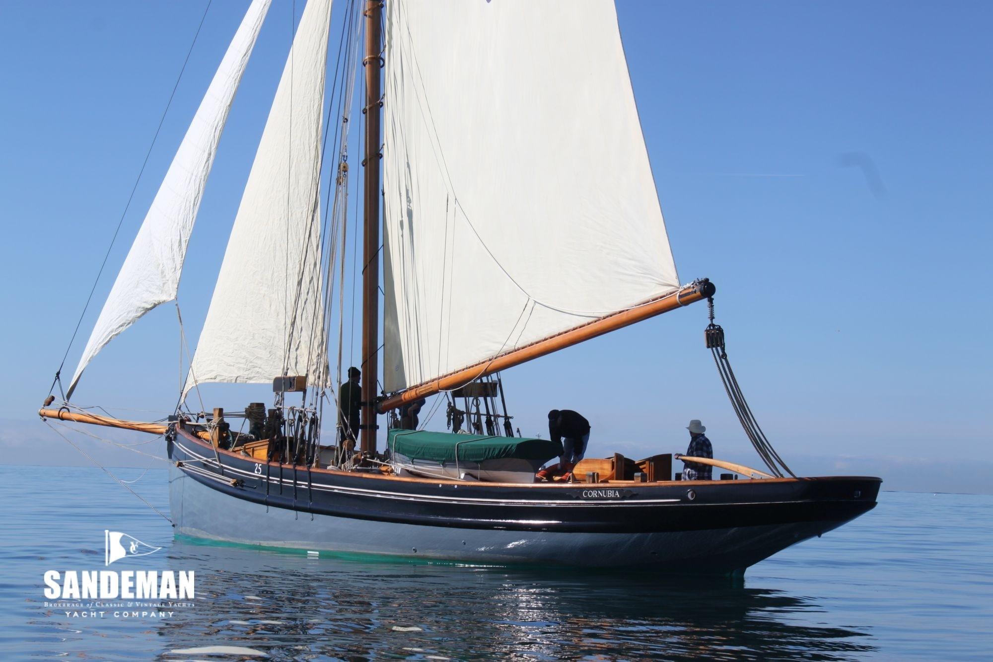 1911 Bristol Channel Pilot Cutter Sail Boat For Sale Www