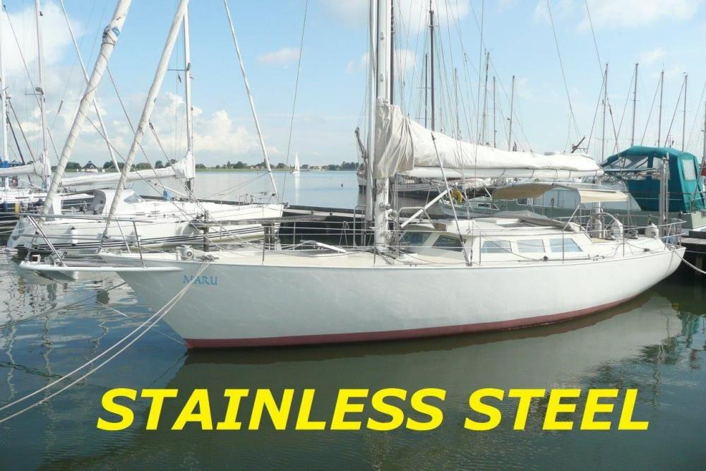 44 Ft Sailing Yacht Completely Build Of 316 L