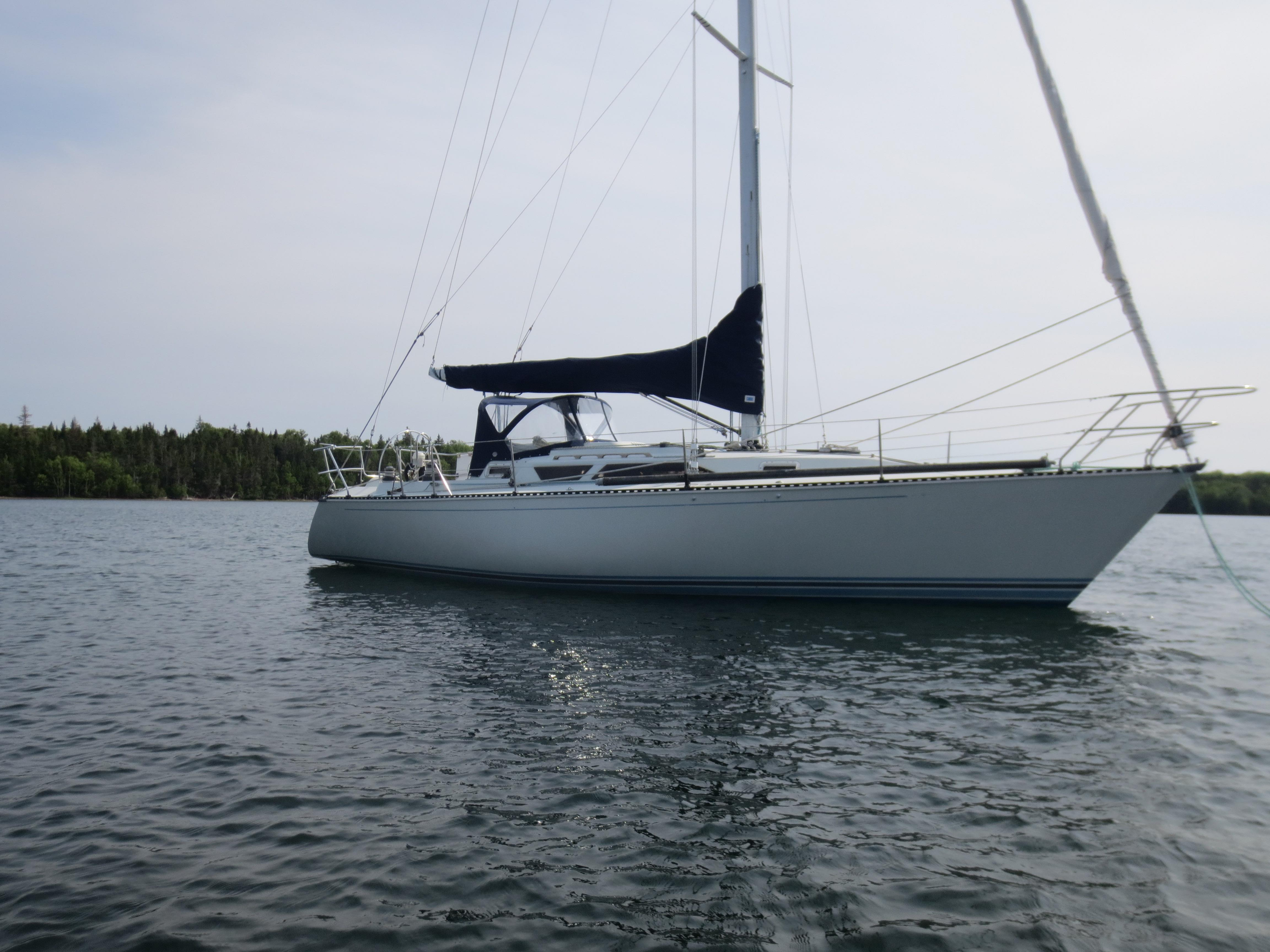 1987 CampC 38 MKIII Sail Boat For Sale Wwwyachtworldcom