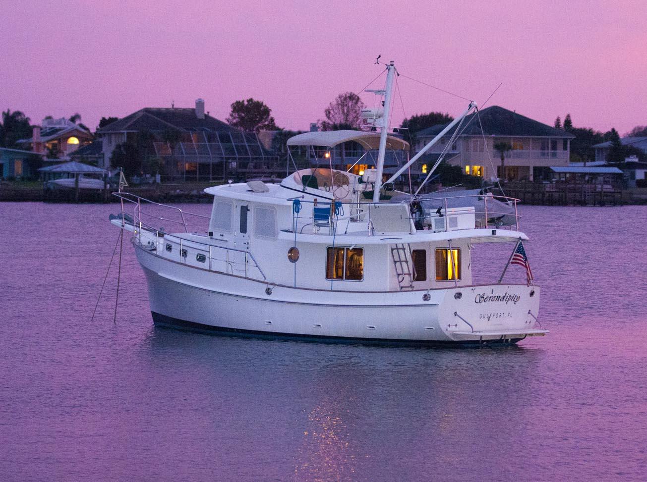 2002 Krogen 39 Power Boat For Sale Wwwyachtworldcom