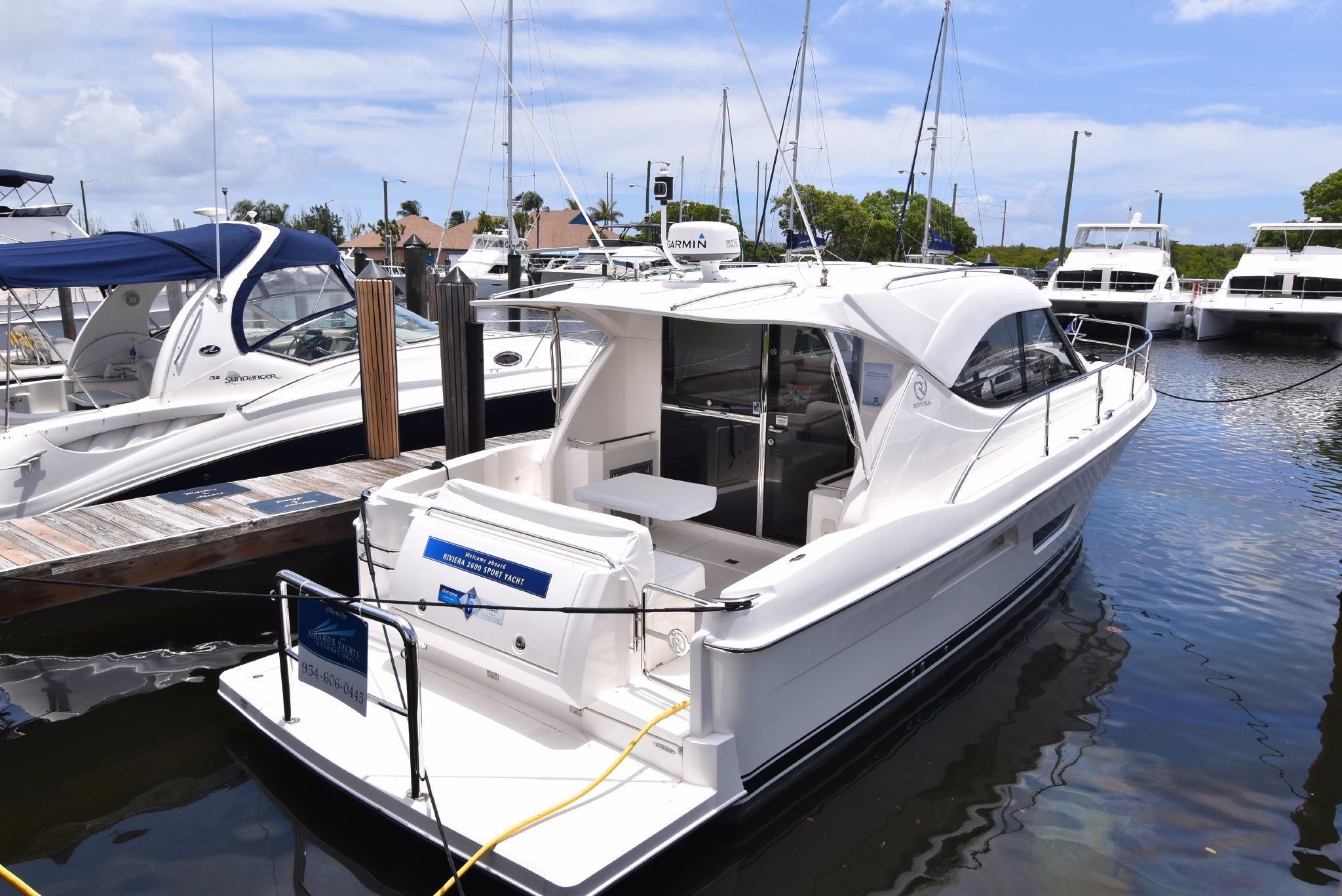 2017 Riviera 3600 Sport Yacht Power Boat For Sale Www