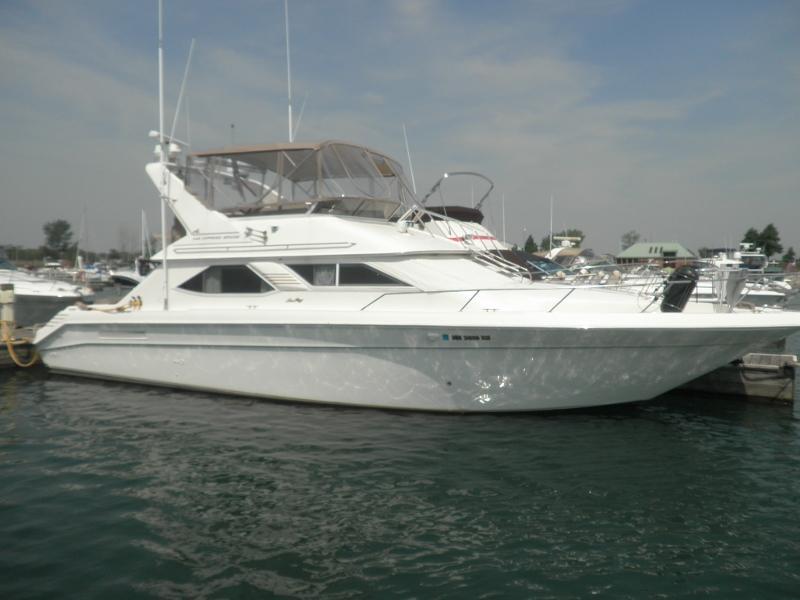 1997 Sea Ray 440 Express Bridge Power Boat For Sale Www