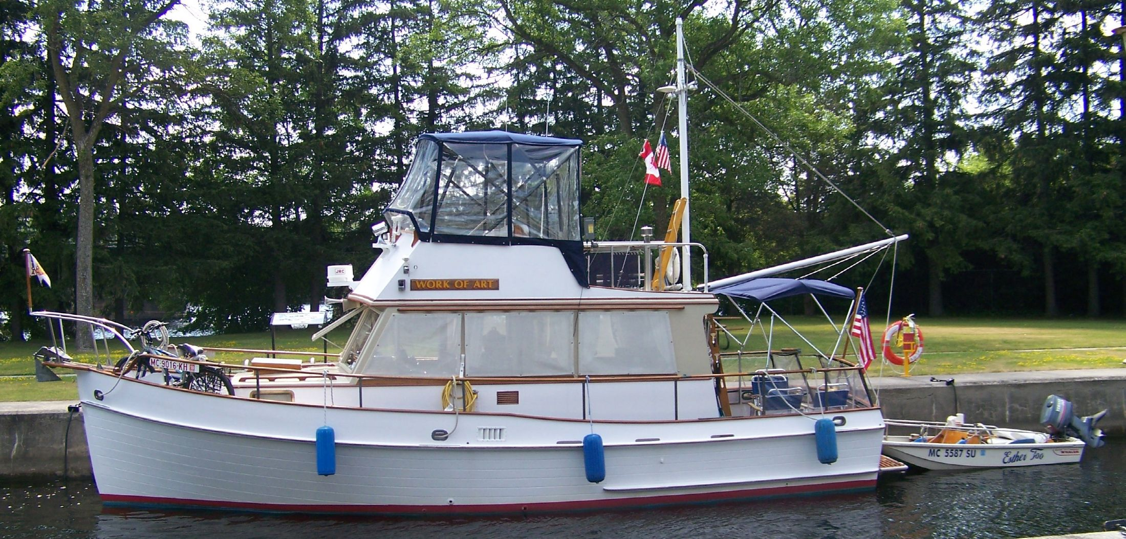 1972 Grand Banks Trawler Power Boat For Sale Www