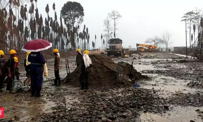 Move to cap Baghjan gas well unsuccessful after Athey Wagon topples over during operation