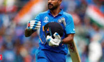 Shikhar Dhawan signs IMG Reliance for his commercial representation