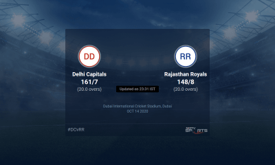 Delhi Capitals vs Rajasthan Royals live score over Match 30 T20 16 20 updates | Cricket News