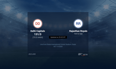 Delhi Capitals vs Rajasthan Royals live score over Match 30 T20 11 15 updates | Cricket News