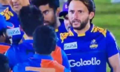 Watch: Shahid Afridi Rebukes Afghan Youngster After His On-Field Spat With Mohammed Amir In Lanka Premier League