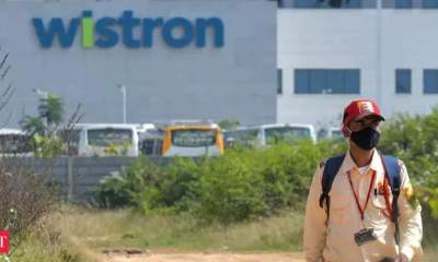 Wistron says distressed by violence, but hopes to resume production at the earliest