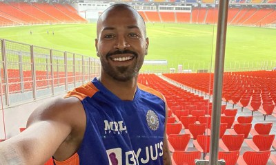 "IND vs ENG: Hardik Pandya Shares Selfie From ""World's Largest Cricket Stadium"" At Motera 