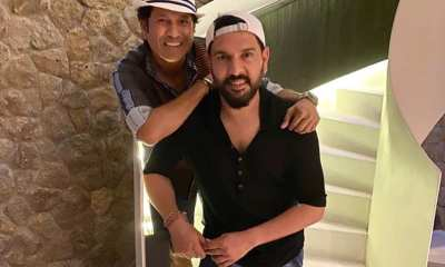 Sachin Tendulkar, Yuvraj Singh Pose In PPE Kits As They Reach Raipur For Road Safety World Series. See Pic