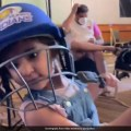 Rohit Sharmas Daughter Samaira Cheers For Mumbai Indians, Plays A