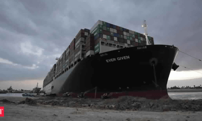Shipping lines rerouting vessels as Suez remains blocked
