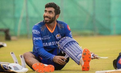 IPL 2021: Jasprit Bumrah Pads Up In Mumbai Indians Training. See Pics