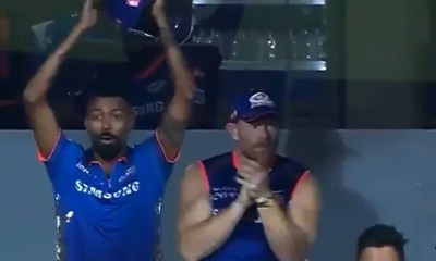 IPL 2021: Suryakumar Yadavs Humongous Six Leaves Hardik Pandya Shell-Shocked. Watch