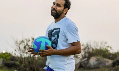 IPL 2021: Mumbai Indians Captain Rohit Sharma Tries His Hand At Volleyball. See Pics